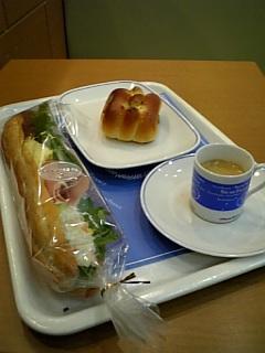 東京での(当面)最後の朝飯?