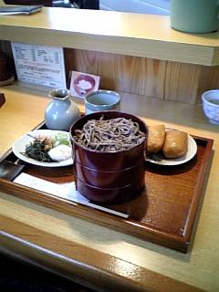 今日の(少し早い)昼飯
