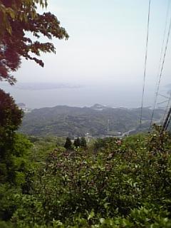 枕木山より
