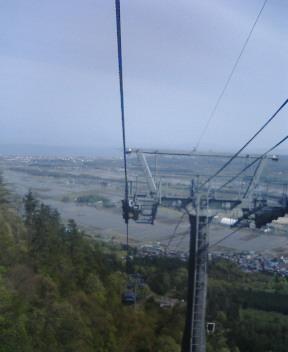 琵琶湖望を望む